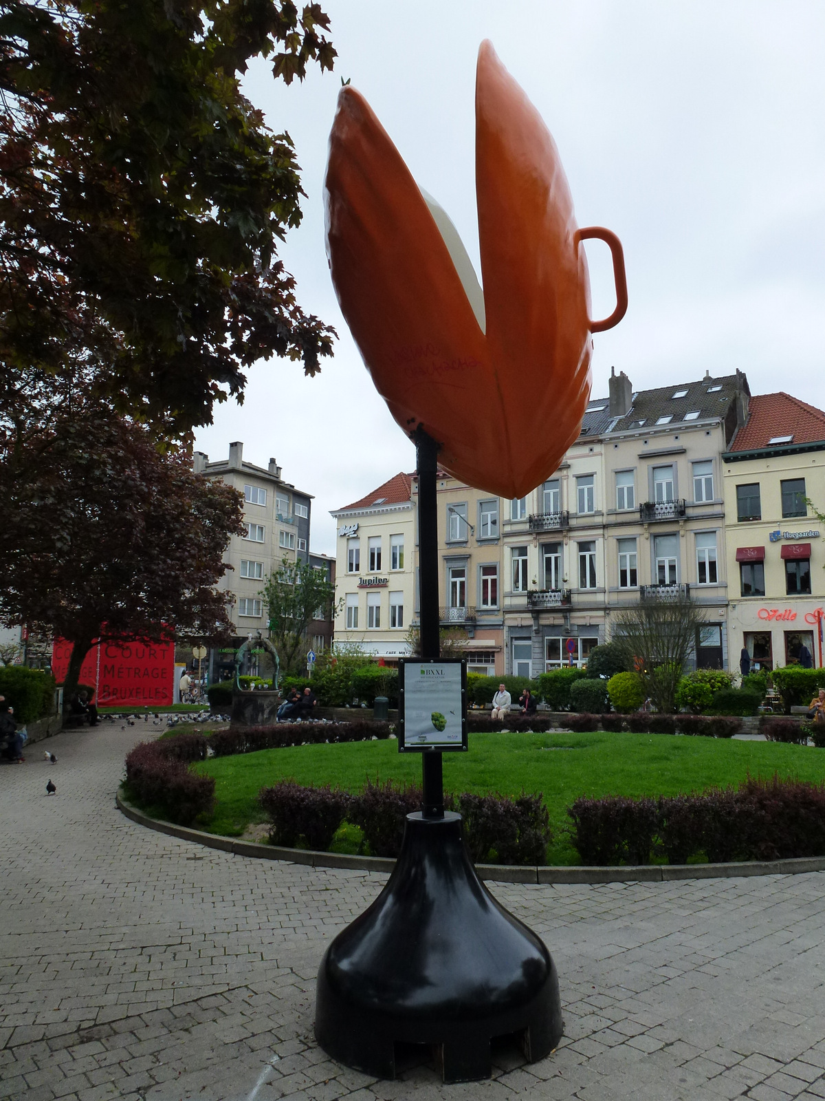 Brusselicious art, place Fernand Cocq