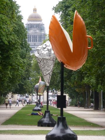 Brusselicious art, Parc de Bruxelles