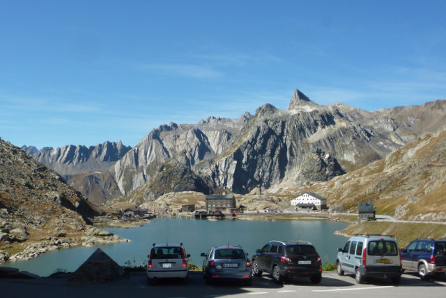St Bernard Pass, Swiss side