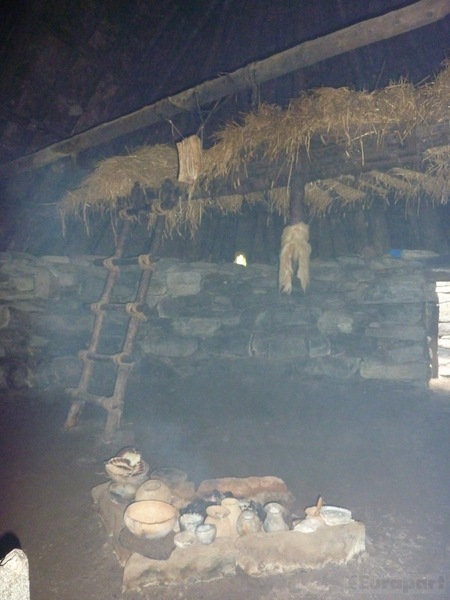 Inside Iron Age House