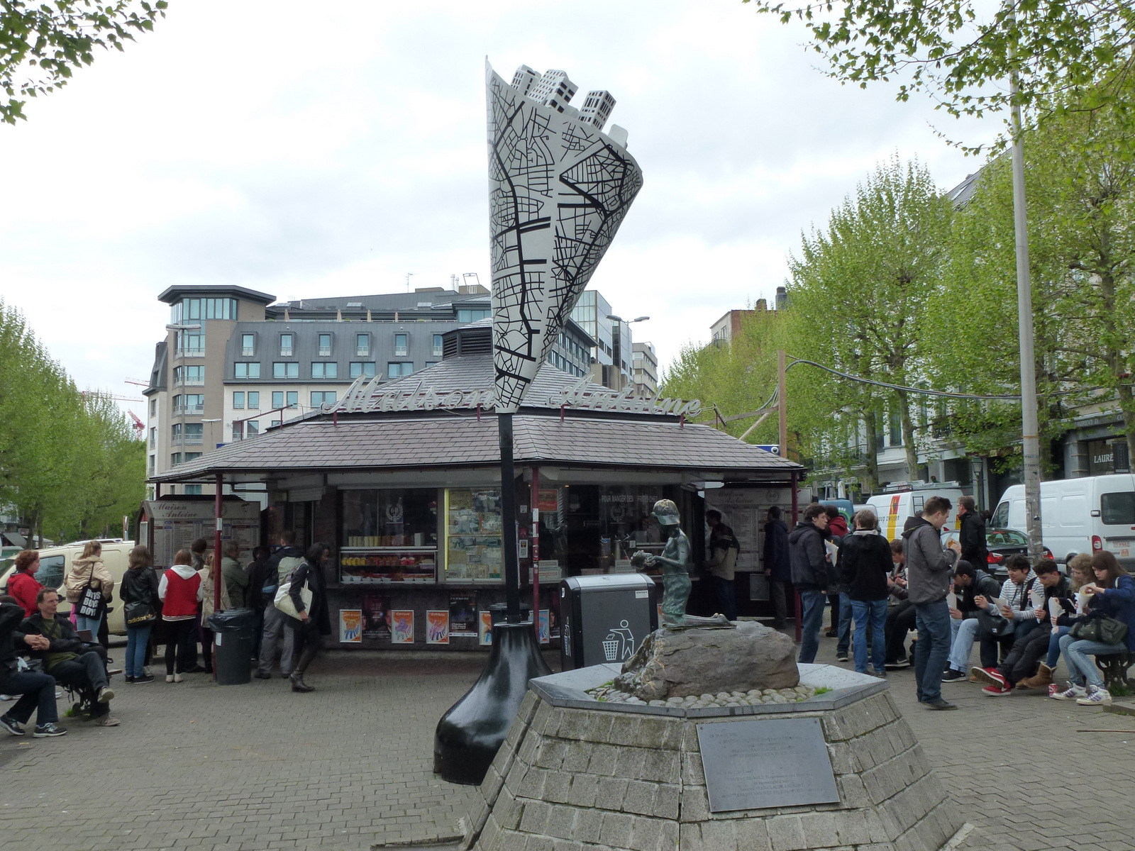 Brusselicious art, place Jourdan